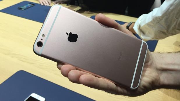 Rose gouden iPhone 6S kopen