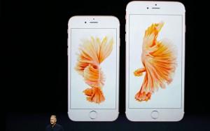 Gouden iphone 6S
