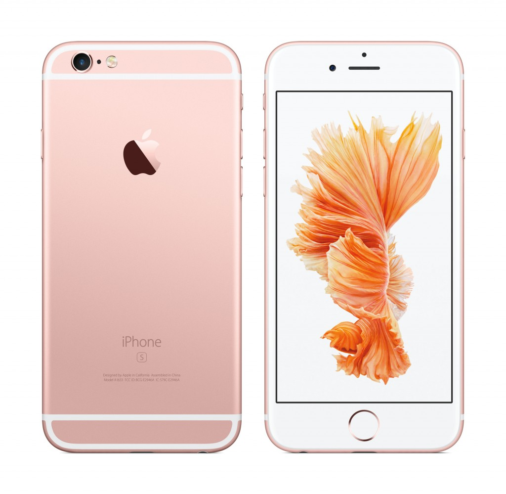 iPhone 6S Rose Gold abonnement