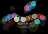 iPhone 7 evenement